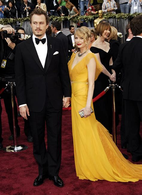 Did Heath Ledger And Williams Get Married by The Most Iconic Couples At The Oscars Topshop