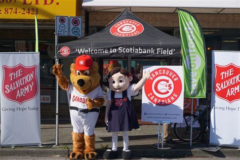 Turkey Giveaways Salvation Army - the vancouver canadians salvation army and save on foods host 11th annual turkey