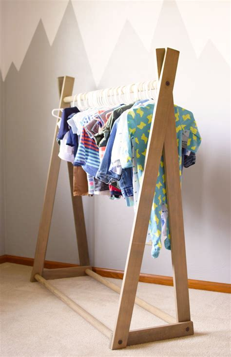 Children S Clothes Rack clothing rack children s clothing rack wood clothing