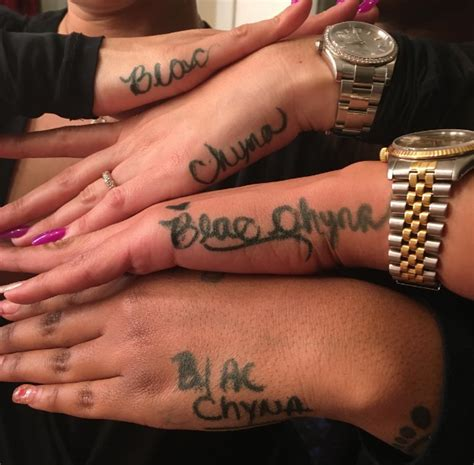 blac chyna tattoo lol blac chyna pretends future isn t real by
