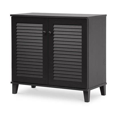 shoe storage cabinet target coolidge shoe storage cabinet espresso baxton studio