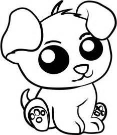 puppy outline coloring page super coloring dog breeds
