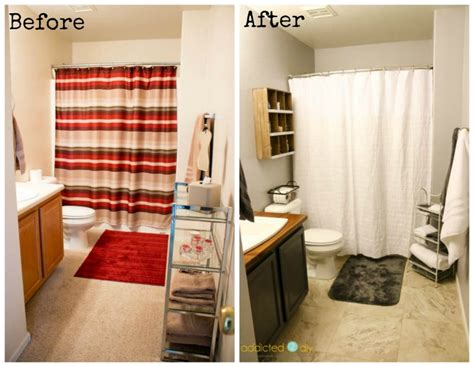 modern guest bathroom modern farmhouse guest bathroom makeover addicted 2 diy
