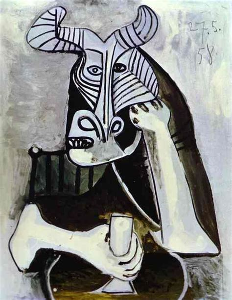 picasso paintings bull 124 best images about minotaur on maze pablo