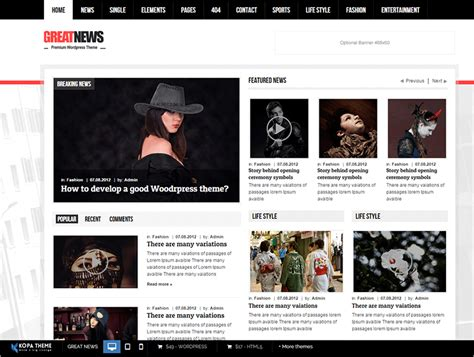 free responsive news template 20 news website html5 templates free premium themes