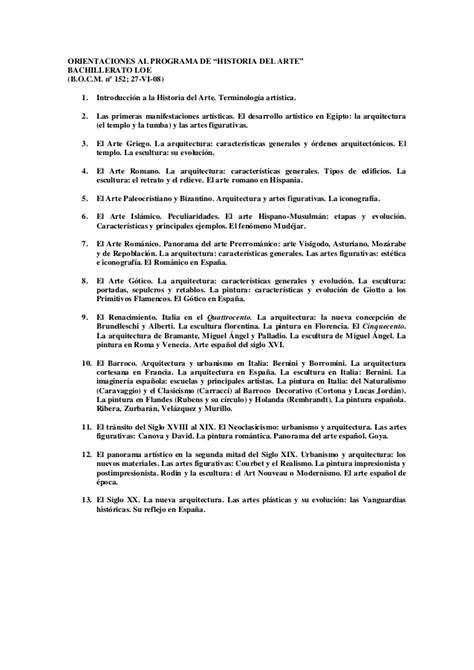 preguntas de historia del arte criterios de correcci 243 n historia del arte y modelo de examen