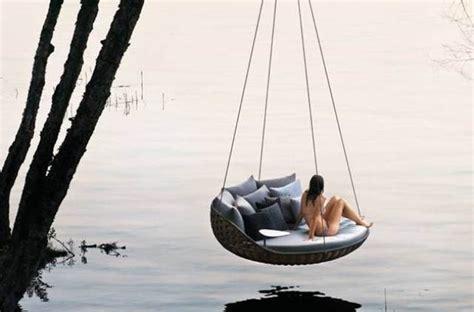 dedon swing dedon swingrest hanging lounger for luxurious rest digsdigs