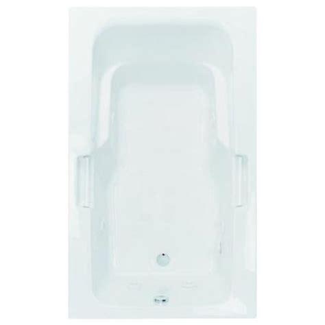 aquatic montrose i 5 ft reversible drain acrylic soaking