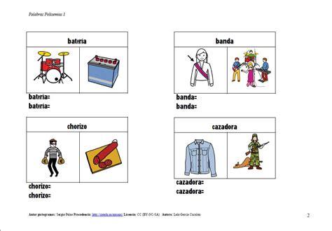 imagenes de palabras homografas divi 201 rtete aprendiendo en 4 186 have fun learning at 4th