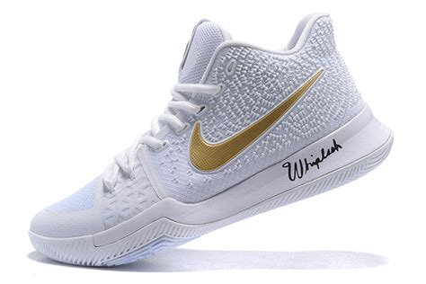 all gold basketball shoes nike zoom kyrie iii 3 basketball shoes white all gold