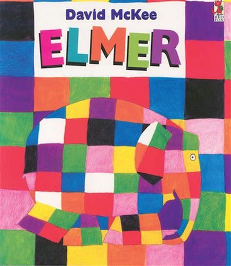 Elmer The Patchwork Elephant Book - elmer book and cd scholastic club