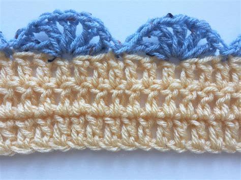 shell pattern crochet video simple shell stitch crochet edging pattern