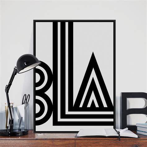 black white abstract decorative art posters at aliexpress com buy modern minimalist black white