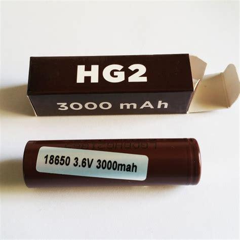 Baterai Battery Type 18650 Lg Hg2 3000mah 3 7v 11 1wh lg hg2 18650 battery 3000mah batteries chargers lg