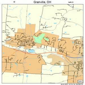 Granville Ohio Map by Granville Ohio Street Map 3931402