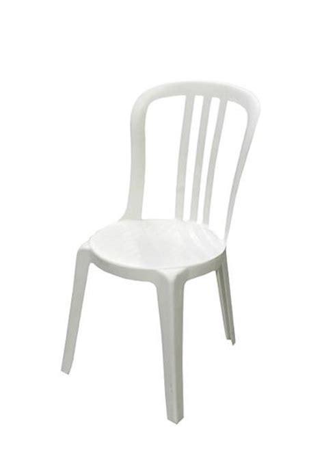 chaise de jardin blanche chaise jardin blanche