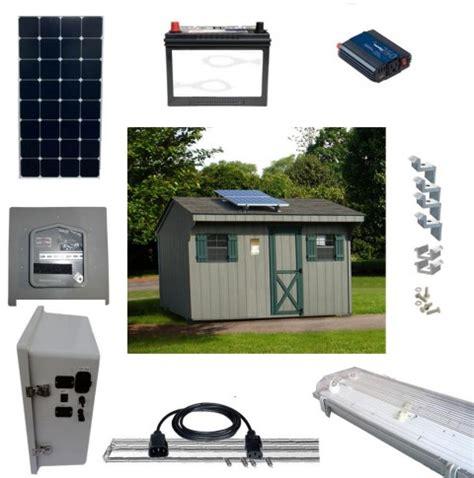 solar led shed lighting  power kits sun