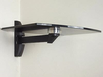 Tv Swivel Wall Mount With Shelf by Tv Wall Mount Glass Shelf Bracket Cantilever Swivel Arm