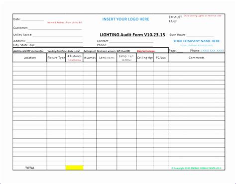Supplier Audit Format Bindrdn Waterefficiency Co Cing Checklist Template Excel