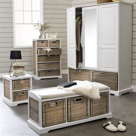 banc tiroir banc de rangement 3 tiroirs en pin massif et kubu kil 3 suisses petits espaces
