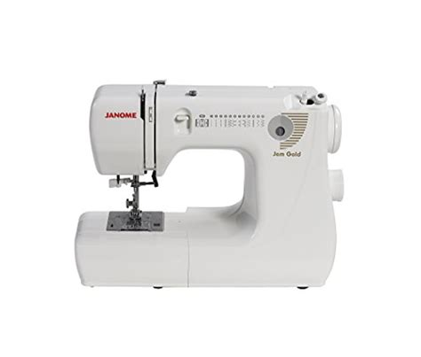 Best Quilting Sewing Machine Reviews by Janome Jem Gold 660 12 Stitch Compact Lightweight Sewing
