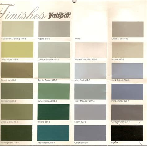 valspar exterior paint color chart valspar exterior paint colors shed pinterest