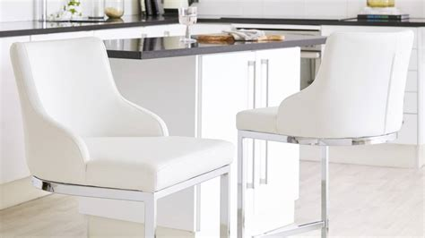 Kitchen Stool With Backrest by Chrome Bar Stool With Backrest Danetti Uk