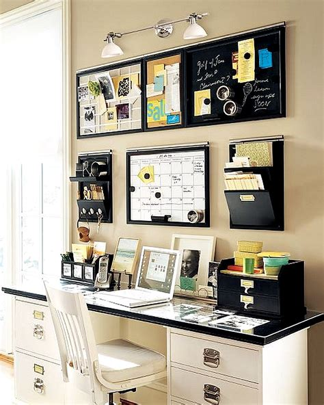 Home Office Tips | home office accessories minimalist desk design ideas