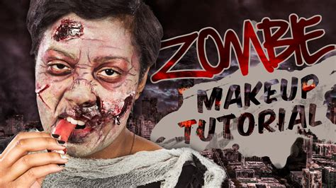 zombie yourself tutorial zombie makeup tutorial wholesale halloween costumes blog