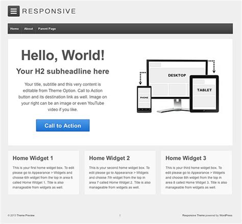 free responsive wordpress theme best wordpress