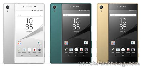 Hp Android Sony Xperia Z5 hp android paling bagus di tahun 2016