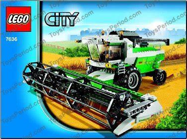 Lego City Eisenbahn Zubehör 600 by Lego 7636 Combine Harvester Set Parts Inventory And