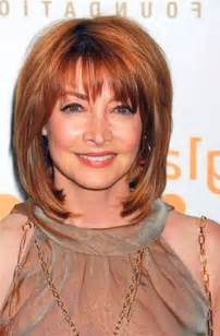 medium length hair cuts for in yheir 60s med layered hairstyles over 60 short hairstyle 2013