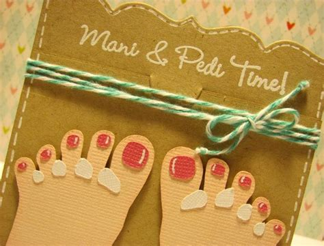 pedicure gift card template great idea for a gift card crafts