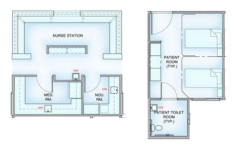 nursing home layout design nursing home patient room layout google search project