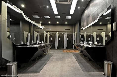 interior design golf locker room  restroom design