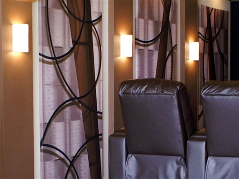 Sconces Decor How To Build A Home Theater Hgtv