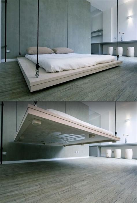 floating bed 123 best images about storage ceiling on pinterest