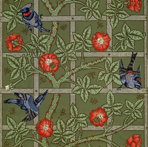 Arts And Crafts Wall Paper - documentary arts and crafts movement wallpaper