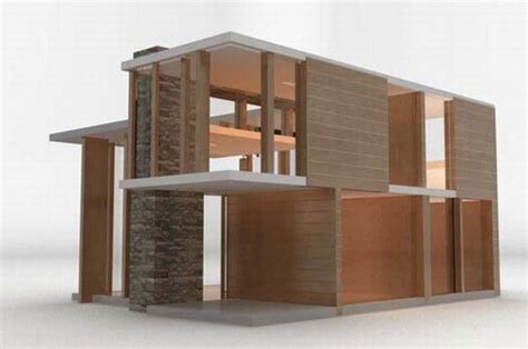 modern dollhouse modern dollhouses from brinca dada for grownup kids