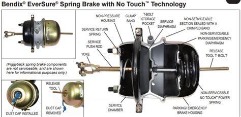 air brake chamber diagram k132352 by bendix brake chamber