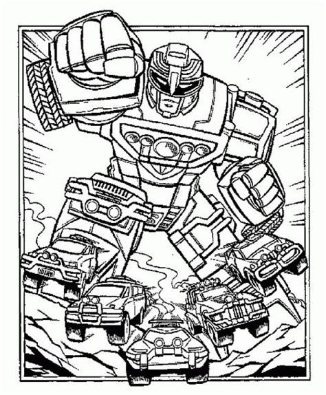 power rangers jungle fury megazord coloring pages robot power rangers turbo coloring page coloring pages