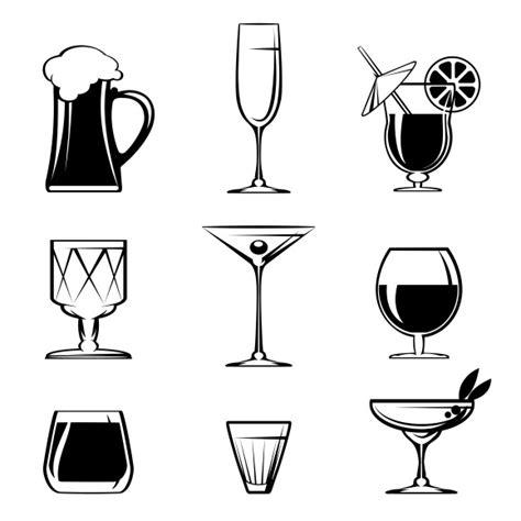 martini silhouette free beverage silhouettes 187 designtube creative design