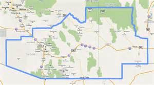 map of mission arizona tucson mission map