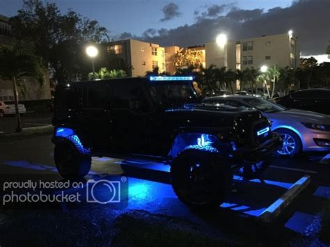jeep jk rock lights anyone multicolor rock lights jeep wrangler forum