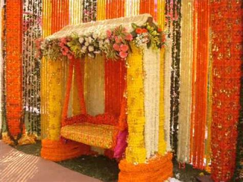 Pooja Decorations At Home Marigold Theme Decoration Youtube
