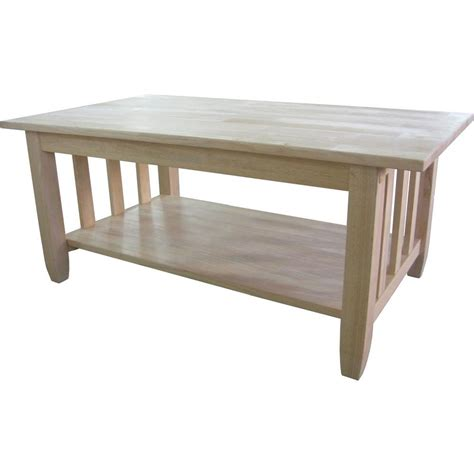 home depot coffee table international concepts unfinished coffee table bj6tc the