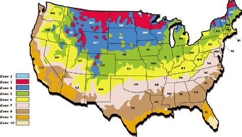 Zones For Gardening Map - kristi s bleeding heart page