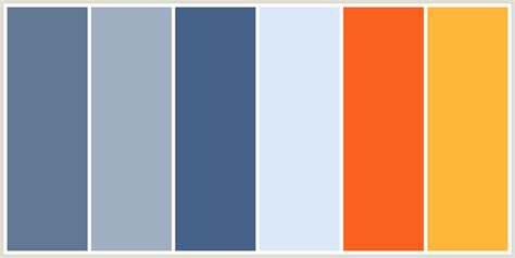 orange and blue color scheme grey blue medium blue yellow and orange color scheme