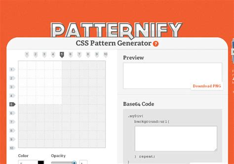 pattern generator html5 20 latest css3 and html5 resources and tools for web